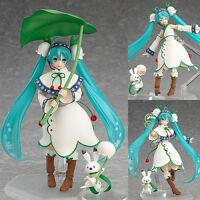 Figma EX-024 Hatsune Miku Snow Bell Version Anime Figure Max Factory Japan