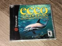 Ecco the Dolphin Defender of the Future Sega Dreamcast Complete CIB Authentic