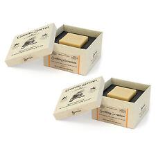 2 PCS Gamila Secret Cream Bar 115g Skincare Cleansers Color: Soothing Geranium