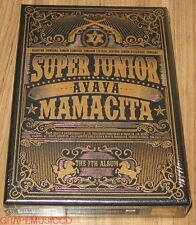SUPER JUNIOR SuperJunior MAMACITA 7TH ALBUM CD + PHOTOCARD WITH FOLDED POSTER