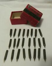 24 Esterbrook #825 Art and Crafting pen nibs with box