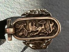 925 silver Egyptian design ring size P