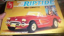 AMT 1960 Corvette Roadster RIPTIDE TV SHOW CAR MODEL CAR MOUNTAIN 1/25 FS 6621