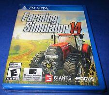Farming Simulator 14 Sony PlayStation Vita *Factory Sealed! *Free Shipping!