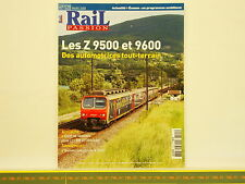 Revue RAIL PASSION 125 - Z 9500 9600 - 67300 67400 - X 2400 - 110 DB
