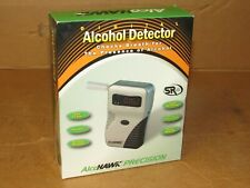 AlcoHawk Precision Q3 Alcohol Breathalyzer + 50 Mouthpieces Fast Free Shipping