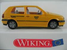 """Wiking 04904 VW Golf III GL (1991-97) """"EMS (A)"""" in chromgelb 1:87/H0 NEU/OVP"""