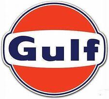 GULF Oil Co Gasoline Vinyl Decal Sticker 4274