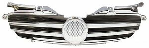 Front Grille Mercedes Benz SLK R170 W170 All Chrome 1998-2004