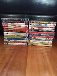 Bulk Lot 27 Dvd Movies ( Classics,Comedy,Action,Romance)