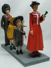 Extremely Rare! Walt Disney Mary Poppins Dance on the Roof Figurine Statue