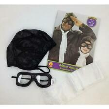 Aviator Costume Accessories Kit with Scarf, Helmet and Goggles