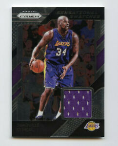 Shaquille O'Neal 2018-19 Panini Prizm Sensational Swatches AG213