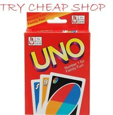 UNO Card Gmae Standard 108 Playing Cards Deck Family Friends Children Kids Fun