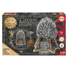 Trono de hierro Game of Thones puzzle 3D madera educa ref. 17207