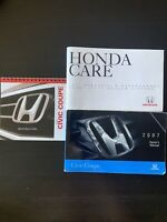 2007 07 Honda Civic Coupe Owners Manuals OEM  Fast And Free Shipping