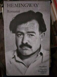 Hemingway ROMANZI vol. 1 Meridiani Mondadori rif. gf