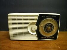 Mid Century General ELectric All Transistor Radio Model #P-800-A Untested Parts/