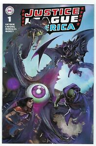 Justice League # 1 Clayton Crain Brave & Bold 28 Homage Variant Cover NM DC