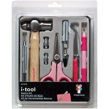 Imaginisce I Tool Basics Kit - 10 Piece Scrapbooking Tools - Eyelets Embossing