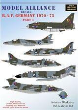 Model Alliance 1/48 RAF Germany 1970-75 Part 3 # 48188