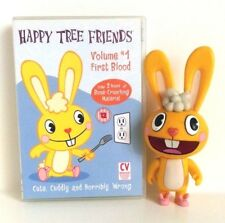 """Happy Tree Friends : First Blood DVD and Cuddles 6"""" Deluxe Figure Set"""