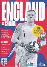 ENGLAND v Croatia (UEFA Nations League @ Wembley 18.11) 2018 official programme