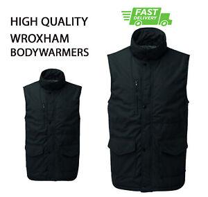 PLAIN NO TEXT Wroxham BODYWARMER Gilet Casual Winter Work Wear HQ Team Uniform