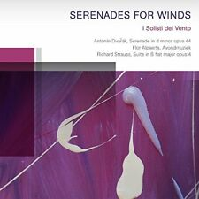 I Solisti del Vento - Dvorák  Strauss Serenades fo [CD]