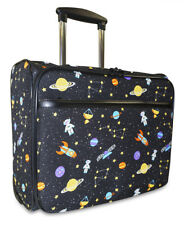 Galaxy Space Rolling Wheeled Laptop Case Bag Computer Trolley Carry On Womens