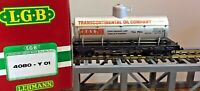 LGB 4080-Y01 Transcontinental Oil Single Dome Tank Car  New In Box!!