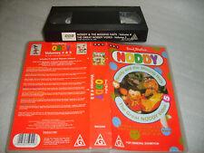 Vhs *NODDY VOLUMES 4 & 5 (Enid Blyton's)* 1992 RARE UK Original BBC Bumper Issue