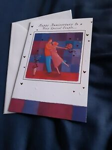 Special couple anniversary Card NEW - dancing