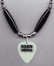 Keith Urban Glow Guitar Pick Necklace - 2015 Raise 'Em Up Tour