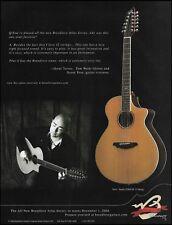 Omar Torres (Tom Waits) Breedlove Atlas Studio J350/CR 12-string guitar 8x11 ad
