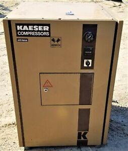 Kaeser 3 kw OIL-FREE Recriprocating Air Compressor KT-500, Sound Encl. 6900 Hrs