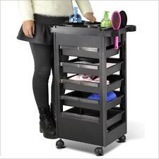 "32"" Hair Beauty Salon Spa Station Trolley Equipment Rolling Storage Tray Cart"