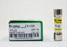 1PC Littelfuse FLQ-4 ( FLQ 4A)  4Amp (4A) 500V Time Delay Midget Fuse 10*38