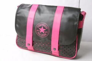 Converse Satchel Bag (Black Pink)