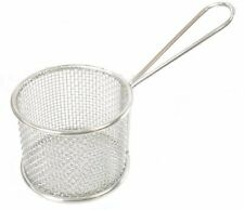 Mini Stainless Steel French Fry Round Serving Basket