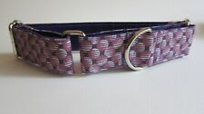 Martingale Collar, 1.25 inch (3 cm) wide for greyhounds