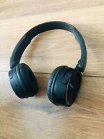 Sony MDR-ZX330BTB Casque Ecouteurs Musique Bluetooth Sound Noir Sans fil Neuf
