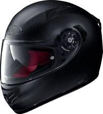 Cascos liso de color principal negro para conductores