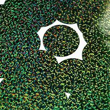 """Sequins Forest Green Glitter Hologram Round 1.5"""" Large Couture Paillettes"""