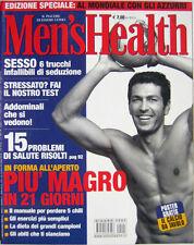 Men's Health-'02-Jacques Villenueve,Alessandro Del Piero,Massimiliano Rosilino