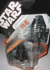 """STAR   WARS  R4-19 w/EXCLUSIVE  COLLECTOR COIN 33/4"""" Action Figure yr2007"""