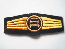 blu marina esercito Abz. per Driver di potenza blu / bronzo - maschinen ricamato
