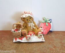 Cherished Teddies Thelma Cozy Tea For Two #156302 (CT18) SEE DESCRIPTION