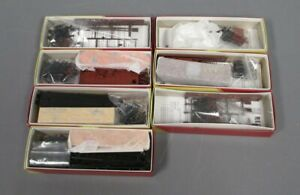 Red Caboose HO Assorted Freight Car Kits [7]/Box