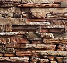 Wall Plaster Stone Plastic Molds Concrete Tiles Garden Decoration Slate Brick